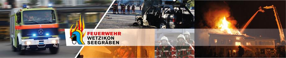Feuerwehr Wetzikon-Seegräben - Ihr Helfer bei Feuer, Rettungen und Unwetter